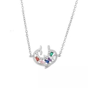 New crystal dolphin necklace